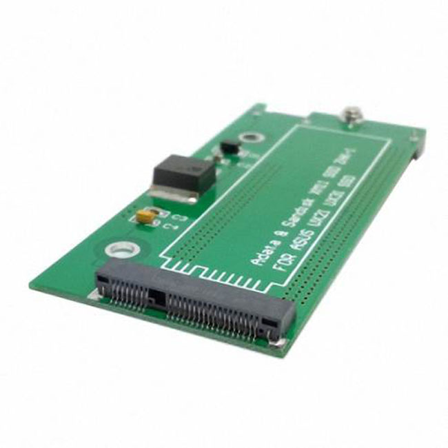 SATA 22P 7+15 to MSATA Mini PCI-E PCBA Assembly only for UX31 UX21 XM11 SSD Solid State Disk
