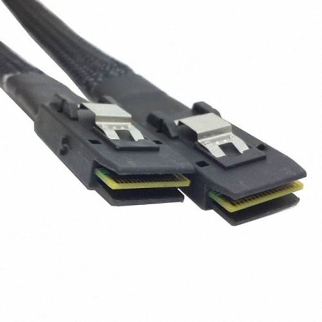 70cm Internal Mini SAS 36Pin SFF-8087  to Mini SAS 36pin SFF-8087 Server Hard Disk Raid Data Cable