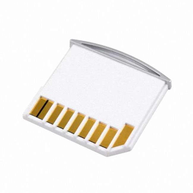 Micro SD TF to SD Card Kit Mini Adaptor for Extra Storage Macbook Air / Pro / Retina White