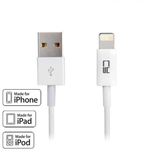 MFI USB 2.0 to Lightning Apple 8pin Sync Data Charge Cable for iPhone 6 & Plus & 5s & iPad Mini & Air 100cm
