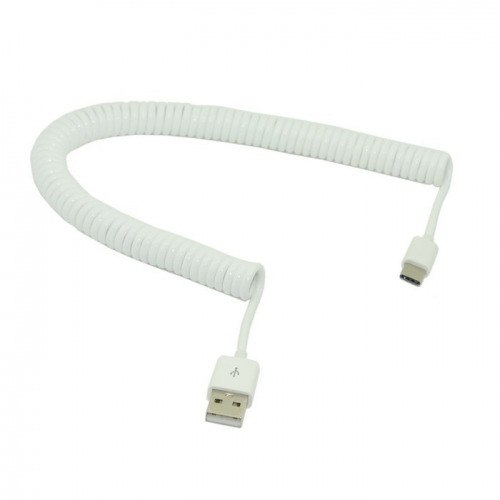 Stretch 3m USB-C 3.1 Type C Male to Standard USB 2.0 A Male Data Cable for Tablet & Mobile Phone White
