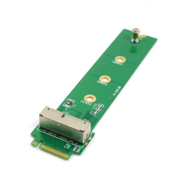 PCI Express PCI-E 4X M.2 NGFF M-Key to 2013 2014 2015 Apple Macbook SSD Convert Card for A1493 A1502 A1465 A1466