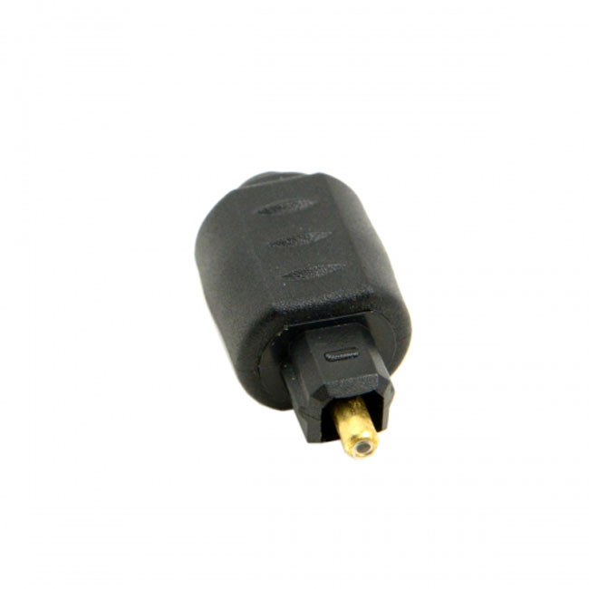Optical Toslink Male to Mini 3.5mm Toslink Female Audio Adapter