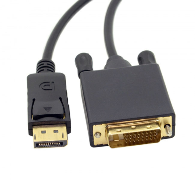 DisplayPort DP Male to DVI Male Single Link Video Cable 6ft 1.8m for DVI monitor