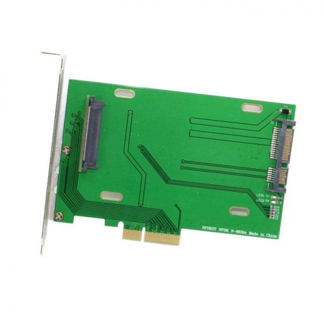 PCI-E 3.0 x4 Lane to U.2 U2 Kit SFF-8639 Host Adapter for Intel Motherboard & 750 NVMe PCIe SSD