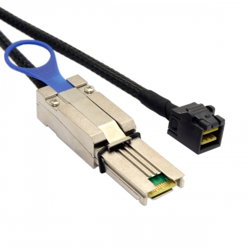 External Mini SAS SFF-8088 to Mini SAS High Density HD SFF-8643 Data Server Hard Disk Raid Cable