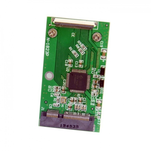 Mini PCI-E mSATA SSD to 40 Pin ZIF Adapter Card for Toshiba or Hitachi ZIF CE HDD Hard disk