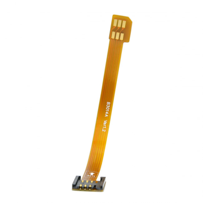 3G 4G Micro SIM Card Kit Male to Standard UIM SIM Female Extension Soft Flat FPC Cable Extender 10cm