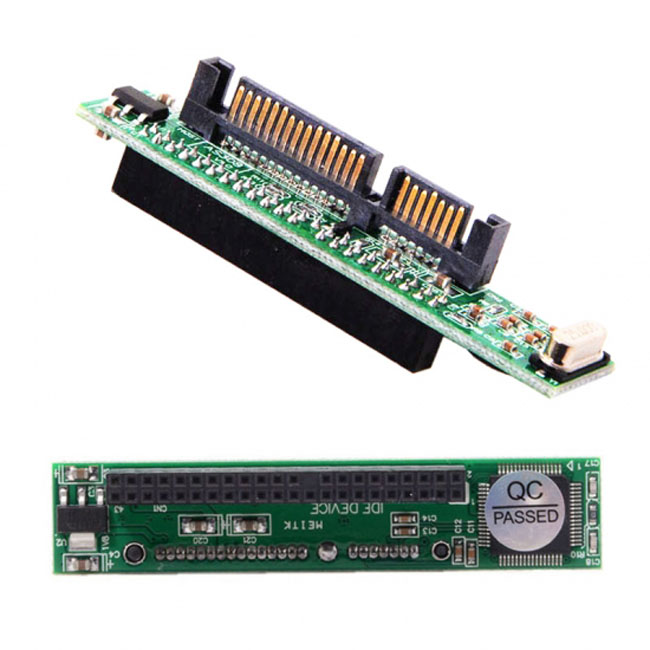 IDE 44Pin Disk to SATA Female Converter Adapter PCBA for Laptop & 2.5