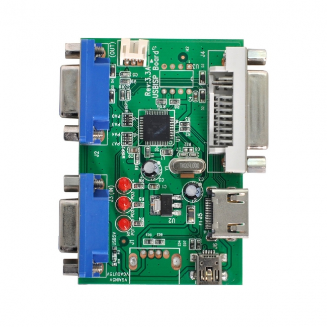 USB2.0 to Realtek Writer RTD2556 2795T Firmware Program Burner 4K 1080P Driver Board Debugging Programmer HDMI DVI VGA Customer Tool