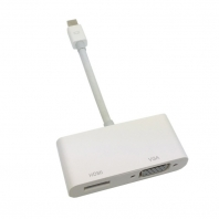 Mini DisplayPort to VGA & HDMI Adapter cable 2 in1 for Apple MacBook & Air & Pro & iMac