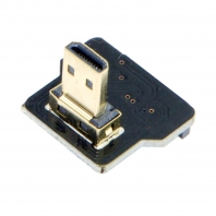 CYFPV Micro HDMI Type D Male Down Angled 90 Degree for FPV HDTV Multicopter Aerial Photography