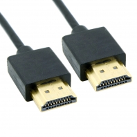 OD 3mm standard HDMI 1.4 male to HDMI male HDTV Cable for PC Laptop Macbook Apple TV 1m