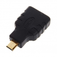 Micro HDMI Male to HDMI Male Adapter for Cell Phone Tablet 1080p HDTV