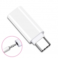 Type-C to 3.5mm Earphone Adapter USB-C 3.1 Male to AUX Audio Female for Xiaomi 6 Mi6 Letv 2 Pro 2 Max2