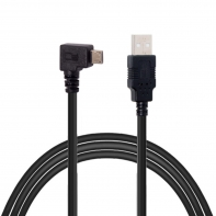 3m Right Angled 90 Degree Micro USB Male to USB 2.0 Data Charge Cable for Phone & Tablet
