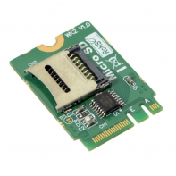 M2 NGFF key A.E WIFI Slot To Micro SD SDHC SDXC TF card Rearder T-Flash Card M.2 A+E Card Adapter Kit
