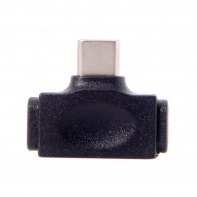 USB 3.1 Type C Male to Micro USB 2.0 & Lightning Female Data Adapter 2 in 1 for Phone & Tablet