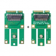 M.2 NGFF A-key E-key Wifi to Mini PCI-E Adapter for Bluetooth Wireless Wlan Card AX200 9260 8265 8260