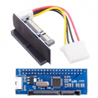 IDE/PATA 40Pin Disk to SATA Female Converter Adapter PCBA for Desktop & 3.5