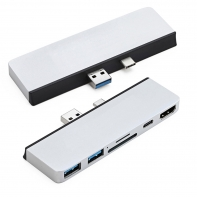 Type-C USB-C to HDMI & USB3.0 OTG & SD TF & Power Adapter for Surface Pro 7